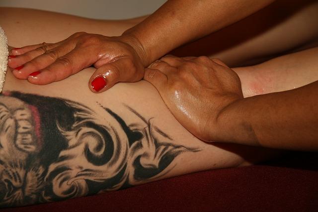 masáž fyzioterapie