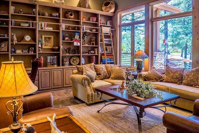 rustikální bytový styl