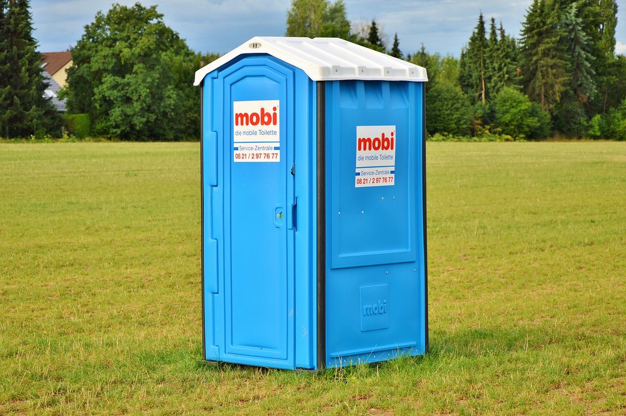 mobilní toaleta
