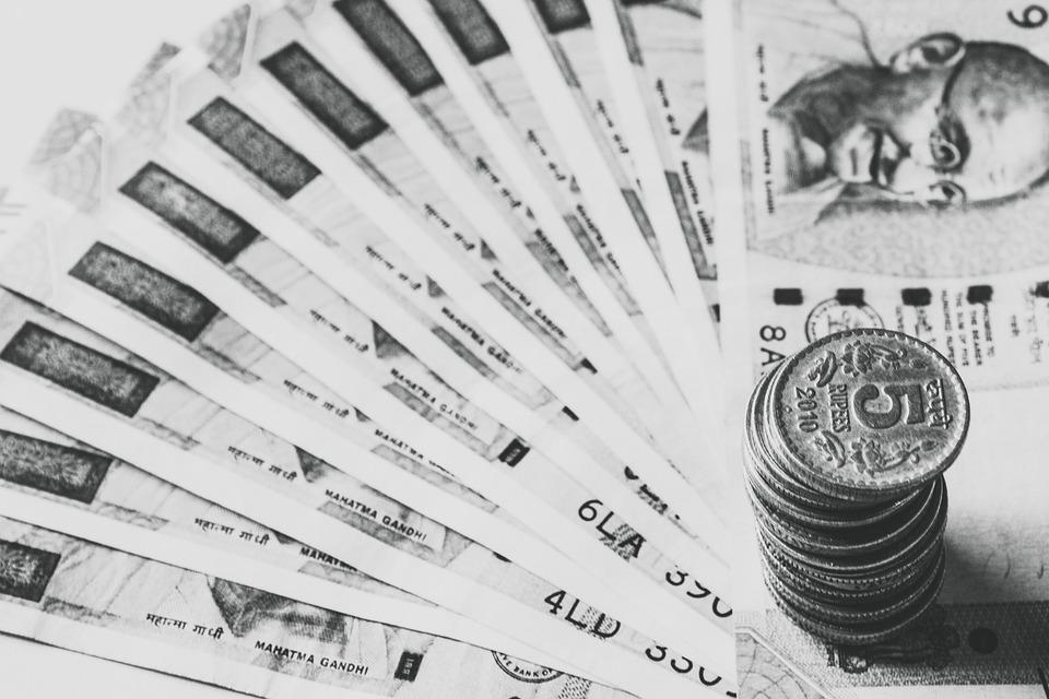 peníze Indie
